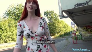 Public Agent Dirty hot Yankee red-haired beauty Alex Harper